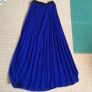 A'Gaci Blue Skirt NWOT